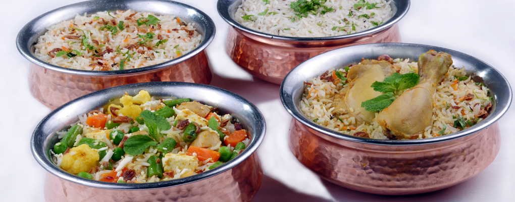 Treasures of basmati rice